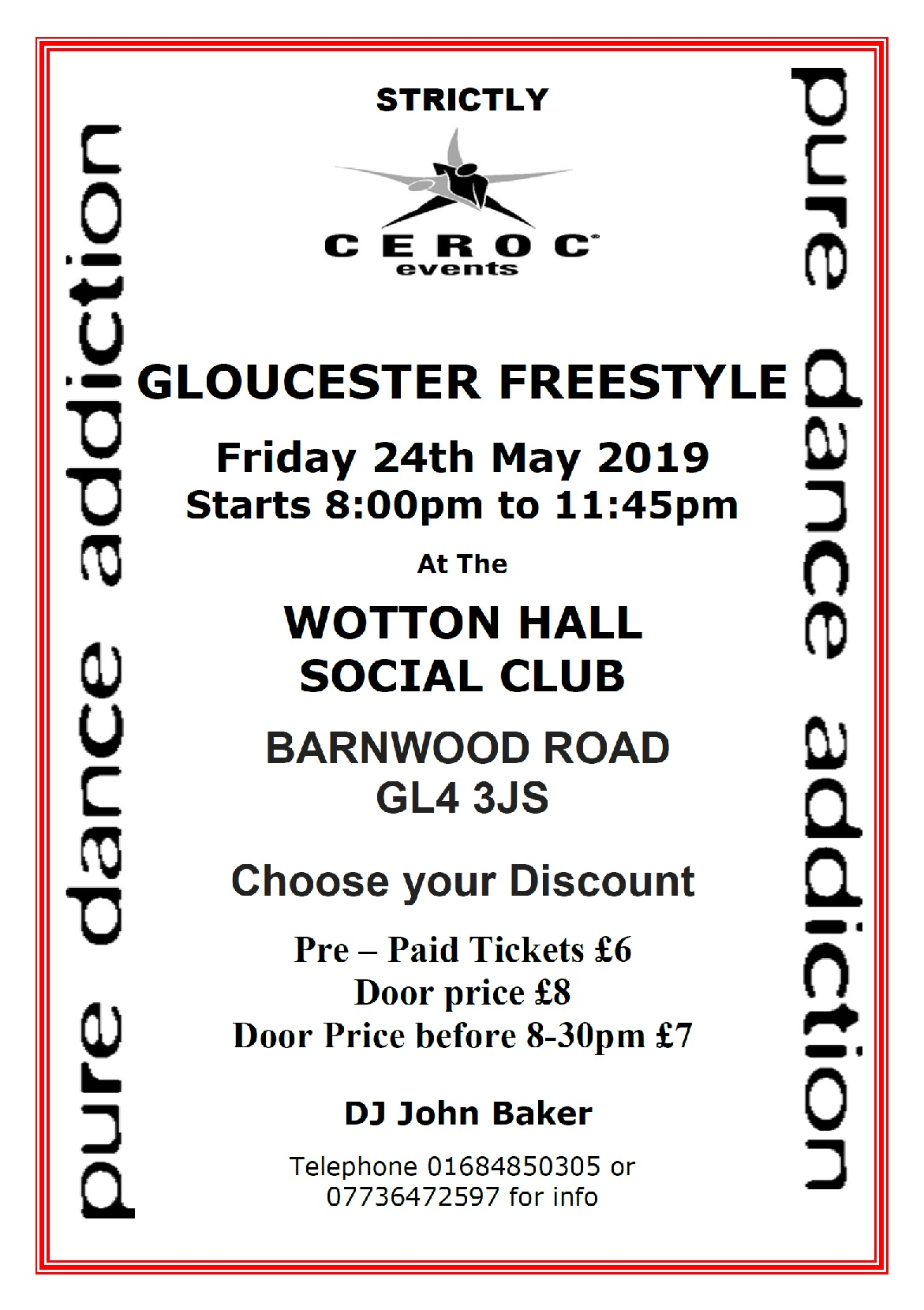 MAY 24TH 2019 CEROC Gloucester freestylE