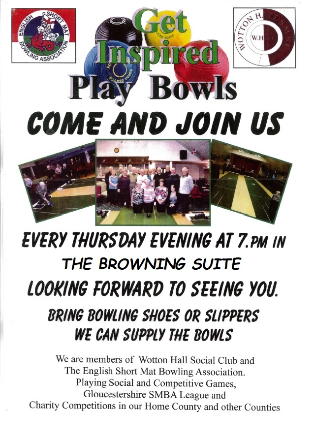 SHORT MAT BOWLS IN THE BROWNING SUITE