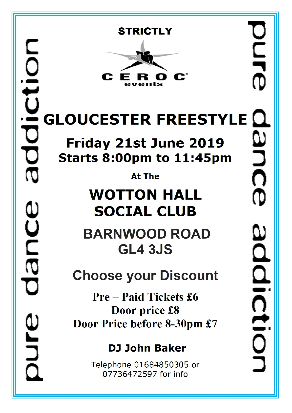JUNE 21ST 2019 CEROC Gloucester freestylE